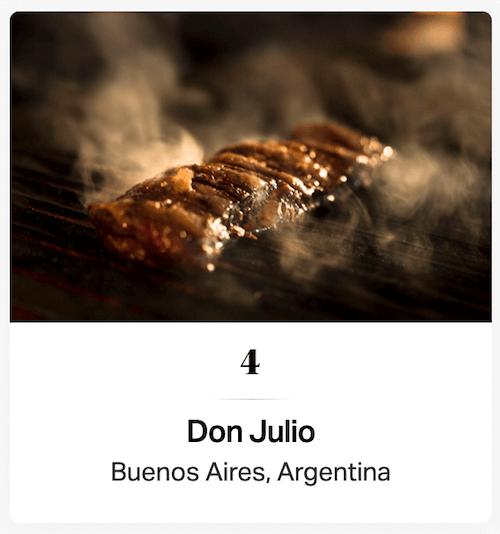 ドンフリオ(アルゼンチン・ブエノスアイレス)