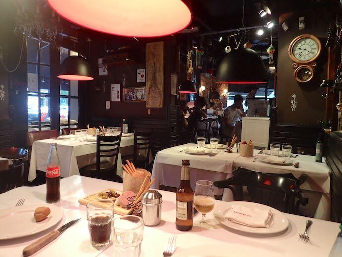 ブエノスアイレスのステーキレストラン・ラカブレラ2