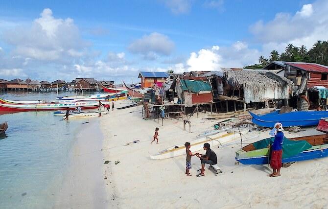 マブール島に住むローカル