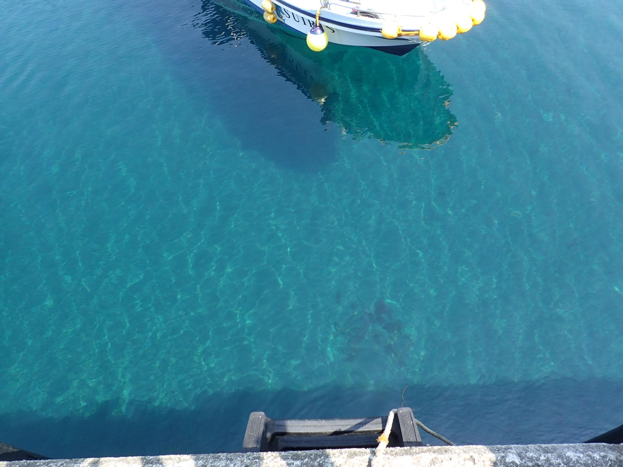 御蔵島のボート