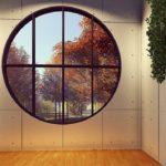 デザインホテルの窓(台北)