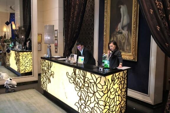 台北ホテル エクラットロビー
