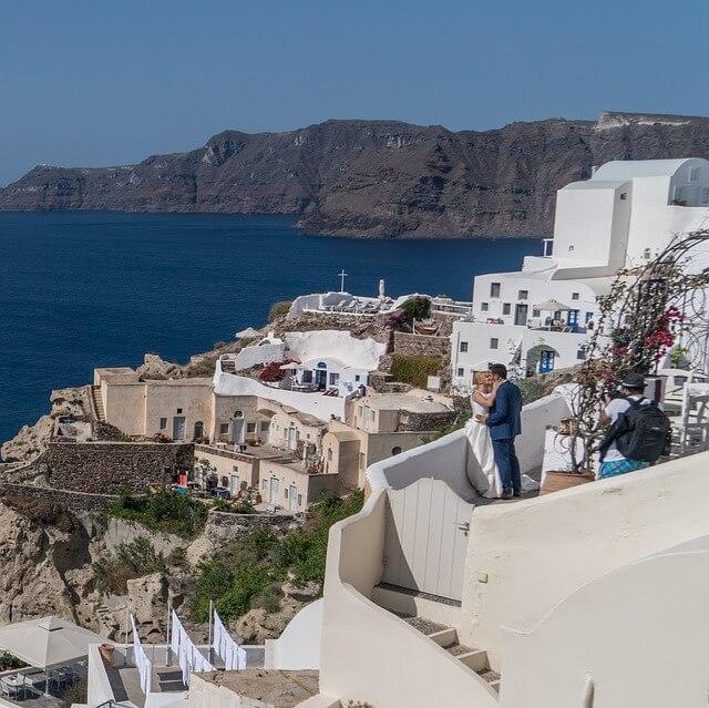 ギリシャのサントリーニ島を街歩き3