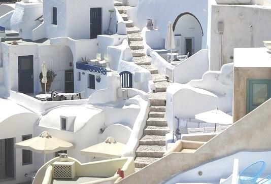 ギリシャのサントリーニ島を街歩き6