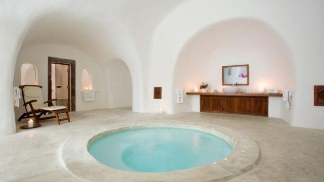サントリーニ島のインスタ映えホテル:ペリボラス部屋3
