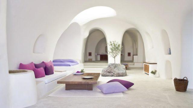 サントリーニ島のインスタ映えホテル:ペリボラス部屋