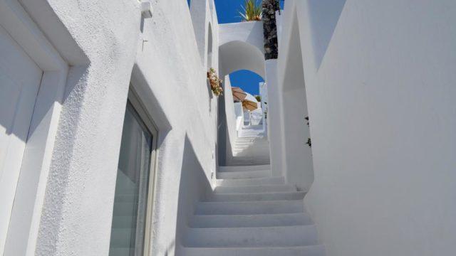 ラ・ペルラ・ヴィラス階段