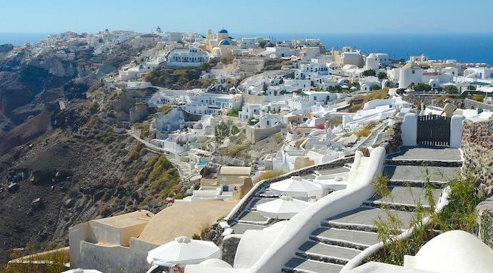 ギリシャのサントリーニ島4