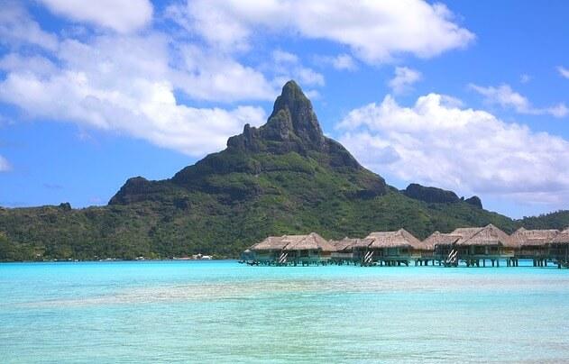 タヒチの美しい海