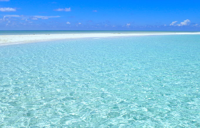 パラオのカヤンゲルのビーチ1
