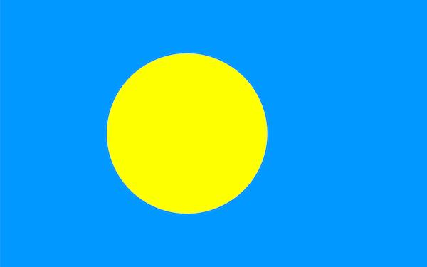 パラオの国旗