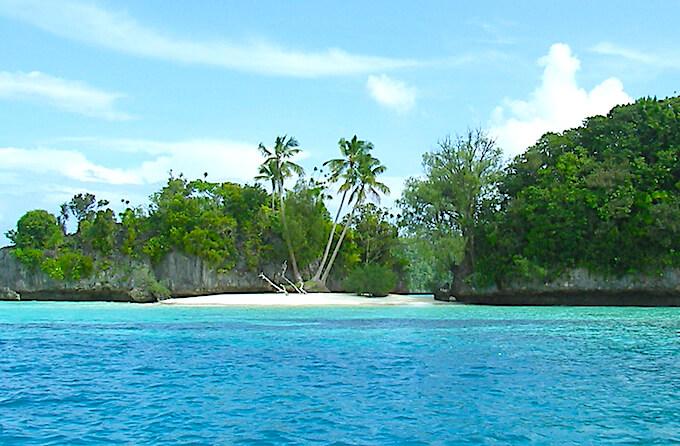 パラオの島(南の島)