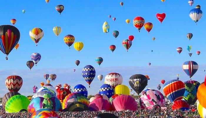 アルバカーキの気球フェスティバル