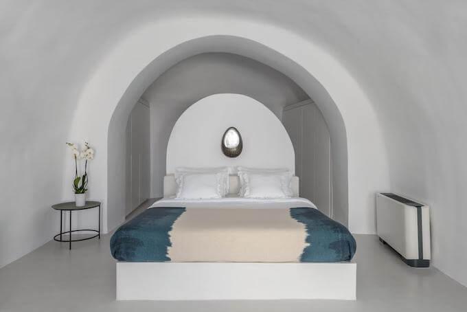 サントリーニの洞窟ホテル(アートメゾン)