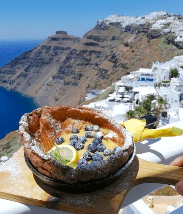サントリーニ島で最高のカフェ