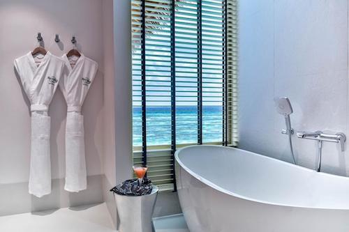 ハードロックホテル モルディブバスルーム