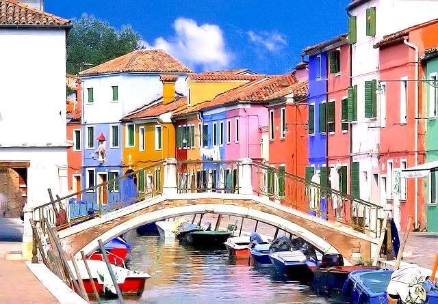 ブラーノ島(ヴェネチア)