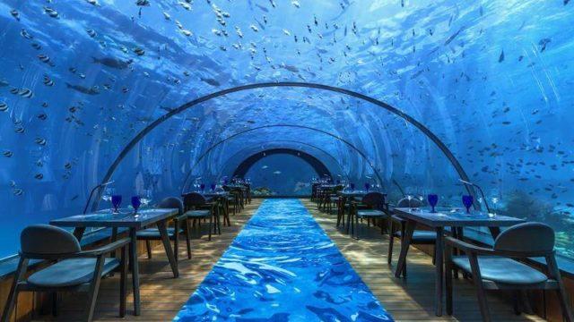 フラワリ アイランド リゾート水中レストラン