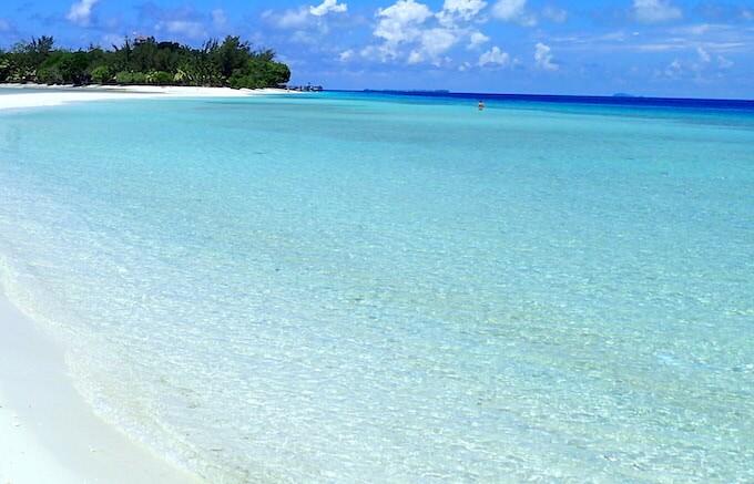モルディブの美しい海11