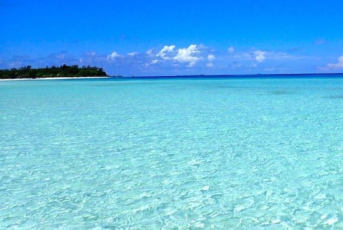 モルディブの美しい海9