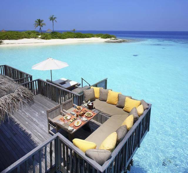 Gili Lankanfushi 二階の部屋