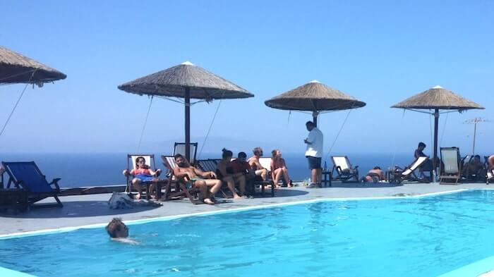Lioyerma Lounge Cafe Pool Barのプール