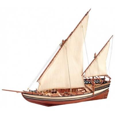 モルディブのドーニの模型(お土産)
