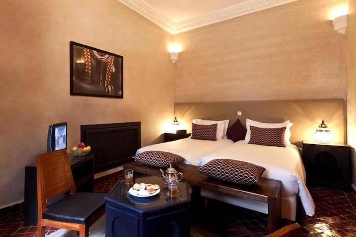 リヤド エル ワラ&スパ(Hotel & Spa Riad El Walaa)部屋ダブル