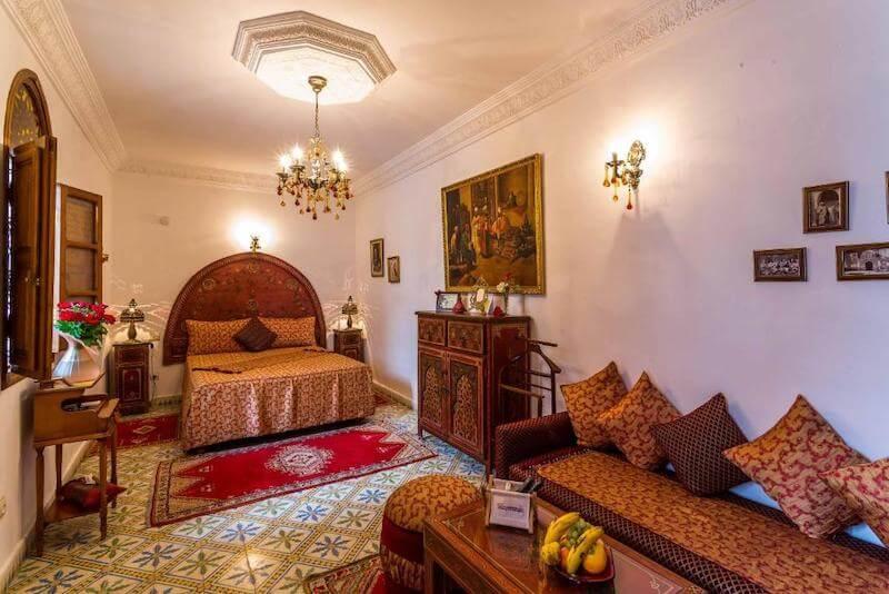 リヤド モウナ(Riad Mouna)部屋