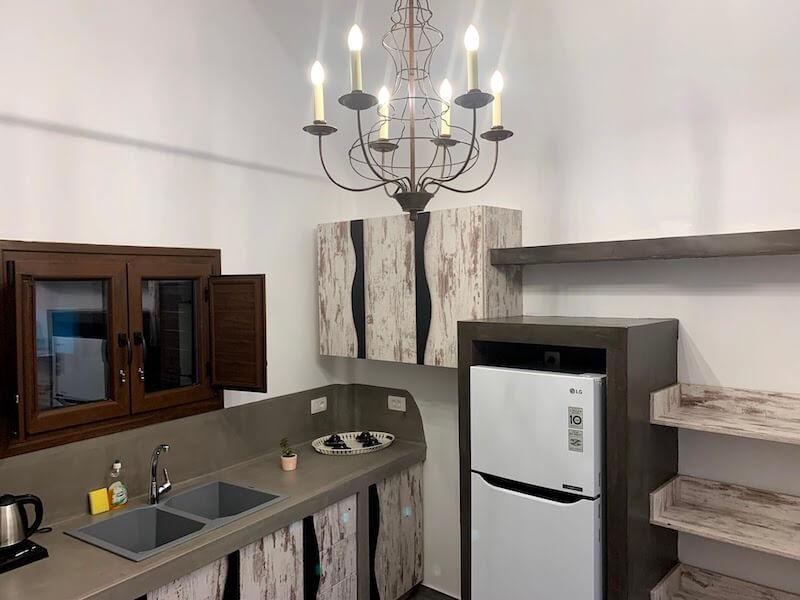 フィラのおすすめホテル(Irene City Villas)キッチン1