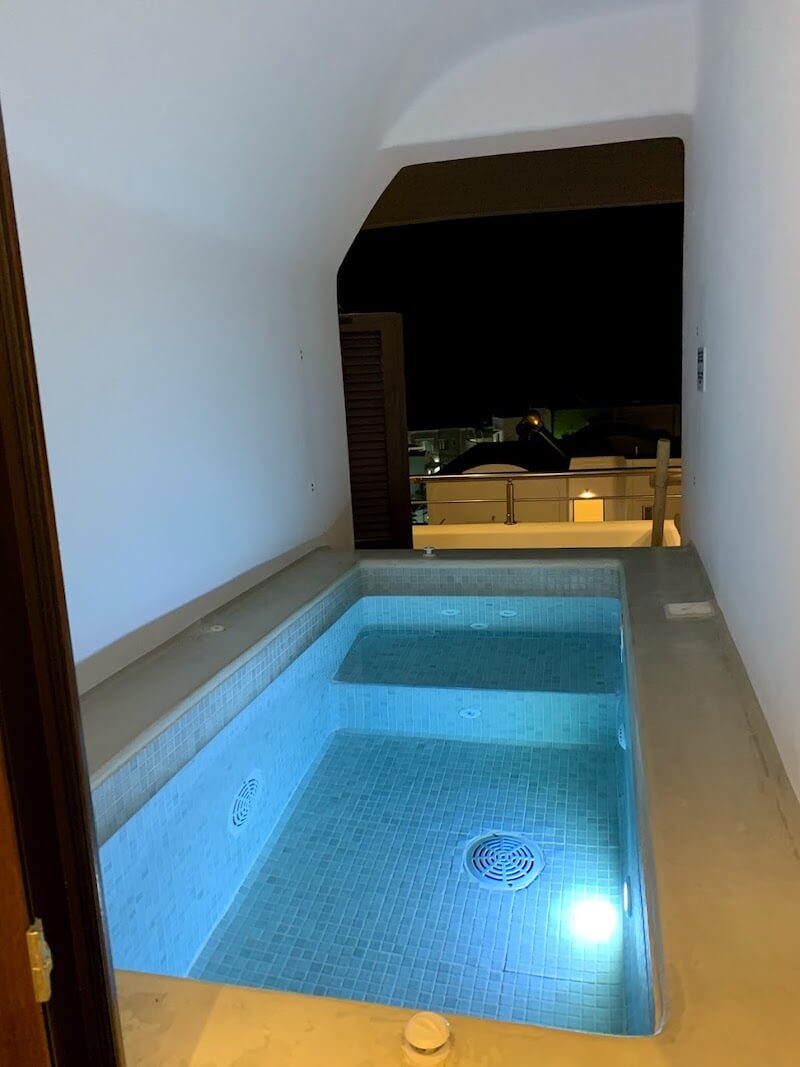 フィラのおすすめホテル(Irene City Villas)プライベートプール2