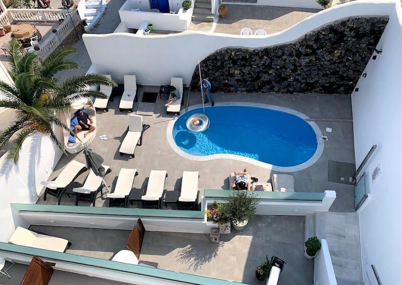 フィラのおすすめホテル(Irene City Villas)プール4