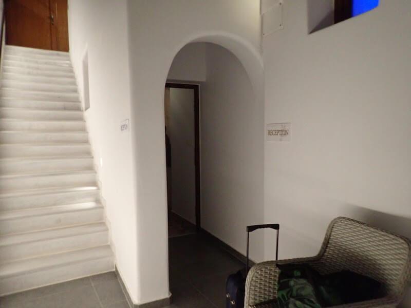 フィラのおすすめホテル(Irene City Villas)フロント