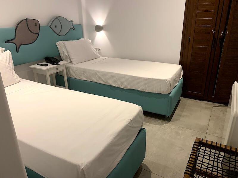 フィラのおすすめホテル(Irene City Villas)寝室1