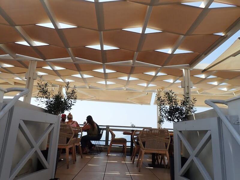フィラのレストランClassicoの天井2