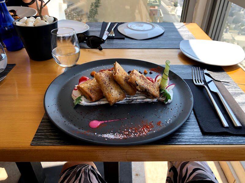 フィラのレストランClassicoの料理4