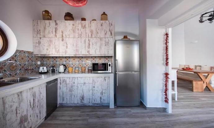 アネミ ハウス&ヴィラズのキッチン