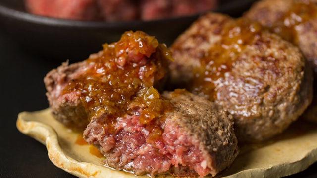 そのまんま肉バーグ