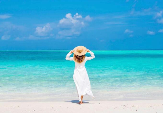サンアクアイルベリのビーチ