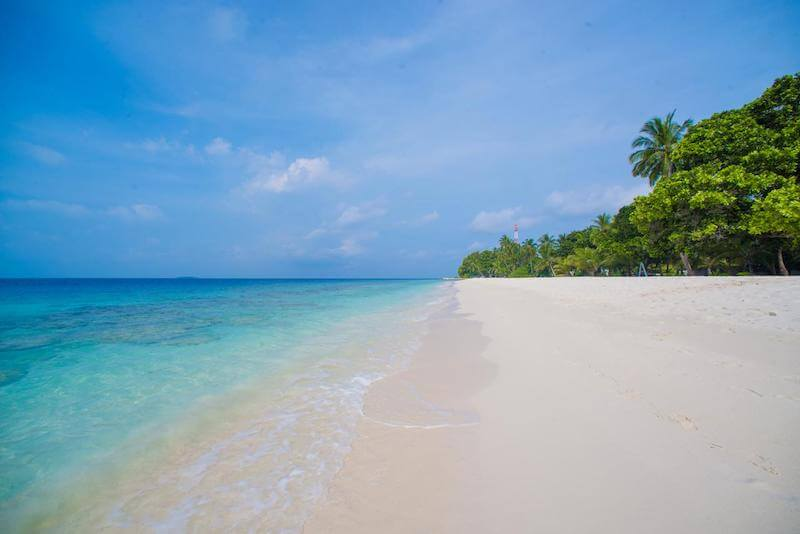 ダラバンドゥの美しいビーチ