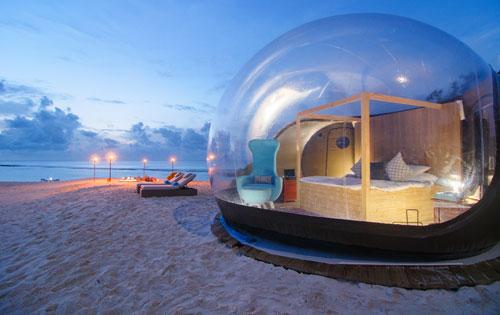 フィノールのバブルテント