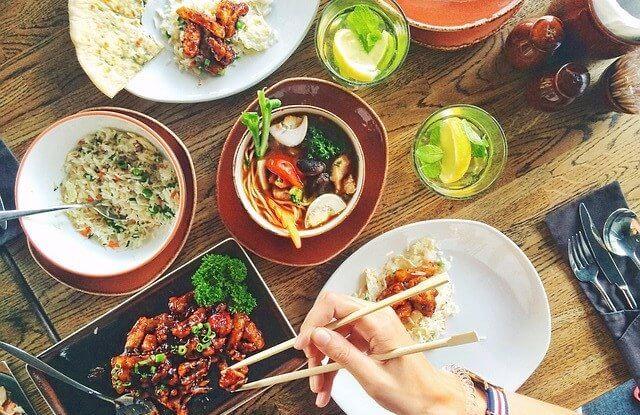 モルディブのレストラン